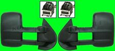 2007 2008 2009 GMC Sierra 1500 2500 New Body Style Side View Towing Mirror Pair