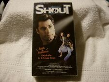 Shout (VHS, 1992) - JOHN TRAVOLTA / HEATHER GRAHAM VHS BRAND NEW FACTORY SEALED