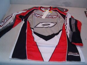 O'Neal Large Red & Silver 'Prodigy' Jersey-$59 NEW