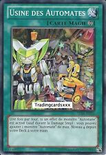 "Yu-Gi-Oh! ""Usine des Automates/Wind-Up Factory""  TU08-FR016 -VF/COMMUNE"