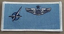 NATO Air Force Pilot Name Tag Patch - Senior Qualification