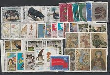 FRANCOBOLLI 1986/96 JUGOSLAVIA LOTTO FRANCOBOLLI MNH Z/6953