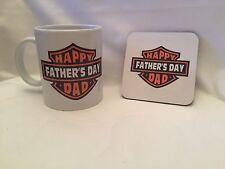 Personalised ceramic mug and coaster gift set