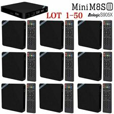 Mini M8S II Smart TV Box Amlogic S905X Android 6.0 4K 1GB 8GB Media Player LOT B