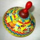 Noddy`s Humming Spinning Top - 1950`s Tinplate Collectable Toy