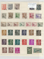 Spain Stamps on 2 Pages Ref: R6841
