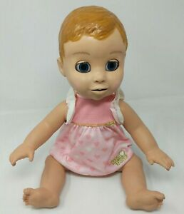 LuvaBella Luva Bella Interactive Baby Doll Model 22700 Blonde Tested Works VTG