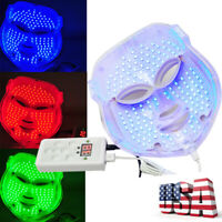 Skin LED Mask Light Photon LED Facial Mask Skin Rejuvenation Anti-aging USA