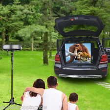 "Video Projector Camera Floor Stand Heavy Duty Tripod Height Adjustable 75""--140"""
