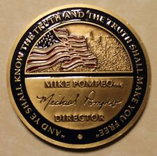 Central Intelligence Agency CIA Director Mike Pompeo Challenge Coin