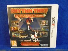 3DS RHYTHM THIEF & The Emperor's Treasure Puzzle Game Nintendo PAL