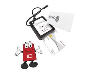 TWN4 MULTITECH SMARTCARD LEGIC 42 PROGRAMMABLE RFID/CONTACT READER -T4SD-BB2B1-P
