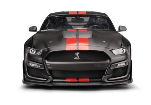 Maisto 1:18 2020 Ford Mustang Shelby GT500 Diecast Model Racing Car Black BOXED