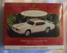 1969 Hurst Oldsmobile 442 Hallmark Keepsake Christmas Ornament 1997