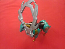 Figurine Power Rangers Wild Force Isis Green Deer Mighty Morphin Megazord Bandai