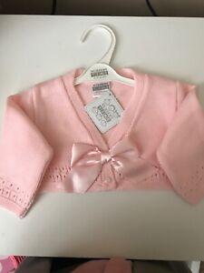 Spanish Baby Girls Cardigan 6-12 Months