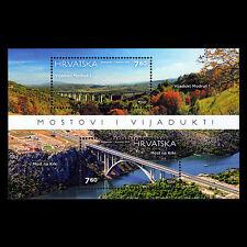 "Croatia 2015 - Architecture ""Bridges and Viaducts"" Nature - MNH"
