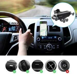 Gravity Air Vent Car Mount Phone Holder for iPhone 11 Galaxy Note 10 All Phones