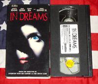In Dreams (VHS, 1999) Annette Bening, Robert Downey Jr. Horror Thriller Suspense