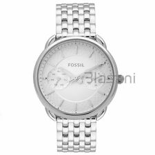 Fossil Original ES3712 Women's Tailor Silver Stainless Steel Watch 34mm