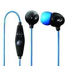 Brand New X-1 IE2-MBK-X Surge Contact Waterproof Sport Headset (Black/Blue)