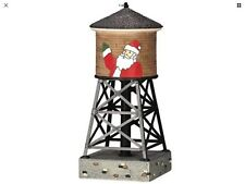 WATER TOWER #44173 LEMAX VILLAGE COLLECTION
