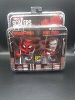 2014 San Diego Comic-Con NECA Scalers:  Spider-Man & Iron Man💥 MARVEL💥
