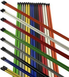 6 X Golf Alignment Sticks New Mixed colors  ***BARGAIN***