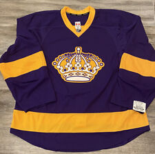 Los Angeles Kings Authentic Reebok Purple Throwback Jersey Size 58 New w/Tags!