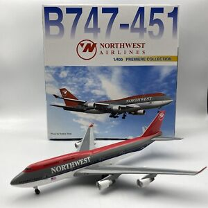 1/400 Dragon Wings  Boeing 747-451 Northwest Airlines Product # 55074
