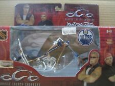 NHL OCC Chopper, Die Cast Motorcycle, Edmonton Oilers, MIB, New, 1:18
