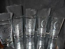 NCAA COLLEGE FOOTBALL CHAMPION ALABAMA 2010 2012 2013 2016 2018 PINT GLASSES (5)