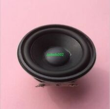 2pcs 52mm 4Ω 3W full-range speaker loudspeaker Round Audio Part Rubber basin