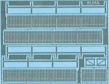 BLMA #4200 Picket Fence 70 linear feet Etched Metal kit + Gates HO scale model r