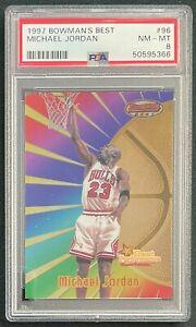 1997-98 Bowman's Best #96 Michael Jordan PSA 8 Chicago Bulls