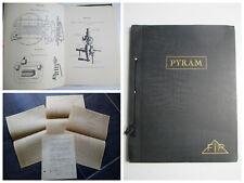 SYSTEM PYRAM Appliqué aux chaudières de LOCOMOTIVES Doc. technique RARE TRAINS