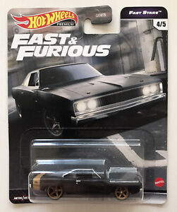 2021 HOT WHEELS Fast And Furious - Dodge Charger (Black And Gold - F9) New