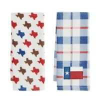 Texas Plaid Kitchen Towel 2 Pack by Main Street from Kohls