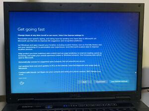 """Dell Vostro 1520 Laptop 15"""" Win 10 80GB Intel Core 2 Duo 2.1 GHz 1GB WiFi++"""