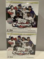 2020 Topps Chrome MLB BASEBALL Update series Mega Box (LOT OF 2)