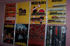 MÄRKLIN Kataloge Sammlung LOT 1972 1973 1974 1975 1976 1977 1978 1979 Preisliste