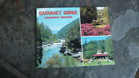 OLD AUSTRALIAN POSTCARD VIEW FOLDER, 1980s CATARACT GORGE LAUNCESTON TASMANIA