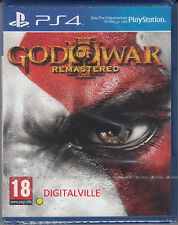 God of War 3 III Remastered PS4 Sony PlayStation 4 Brand New Factory Sealed