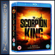 THE SCORPION KING - 4 MOVIE COLLECTION   **BRAND NEW BLU-RAY***