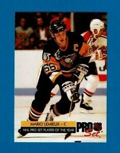 1992-93 Pro Set Hockey complete base set (1-270)