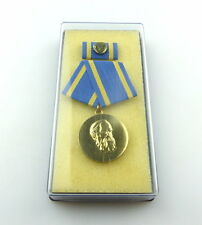 #e4667 Friedrich-Engels-Preis B. Nr. 41 d (1973-89) I. Klasse Stufe Gold