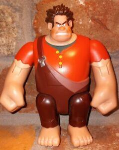 "Disney Pixar Wreck It Ralph 6"" Posable Figure Wall Smashing Fists Thinkway WORKS"