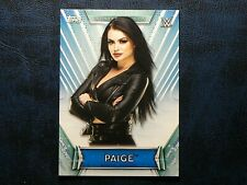 2019 Topps WWE Women's Division #30 Paige SMACKDOWN General Manager