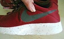 Worn 1X Mens Sz 10 NIKE Port Wine Mesh  SNEAKERS Lightweight Running Shoes Red