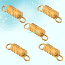 Jewelry Bracelet Necklace Lots 5 Pcs Gold Swivel Screw Thread Clasps Connectors